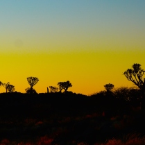 Sunset, Keetmanshoop.