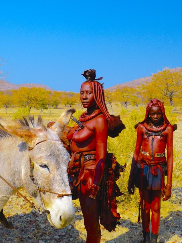 Traditional Women, Kaokoland